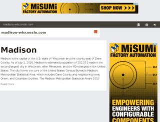 madison-wisconsin.com screenshot