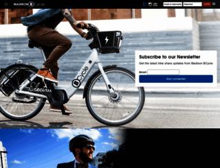 madison.bcycle.com screenshot