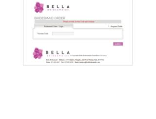 madison.bellabridesmaid.com screenshot