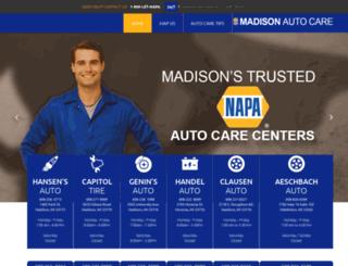 madisonautocare.net screenshot
