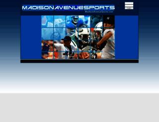 madisonavenuesports.com screenshot