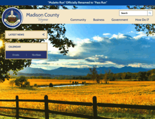 madisonco.virginia.gov screenshot