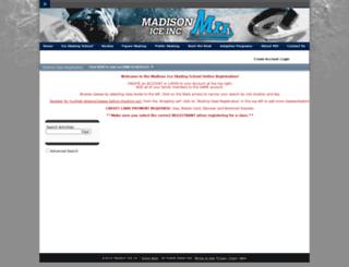 madisonice.maxgalaxy.net screenshot