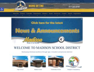 madisonk12.us screenshot