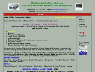 madisonmarketing-llc.com screenshot