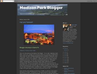 madisonparkblogger.blogspot.com screenshot