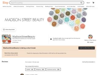 madisonstreetbeauty.com screenshot
