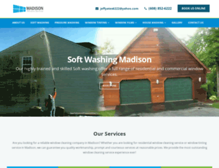 madisonwindowservices.com screenshot