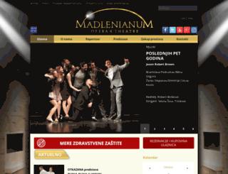 madlenianum.rs screenshot