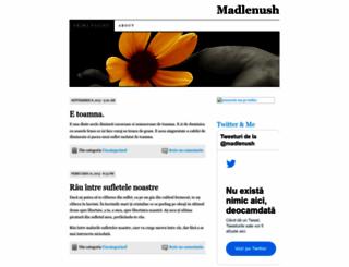 madlenush.wordpress.com screenshot