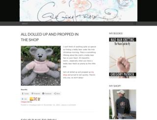 madmanknitting.wordpress.com screenshot