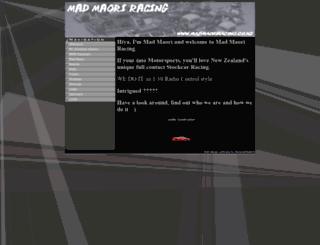 madmaoriracing.co.nz screenshot