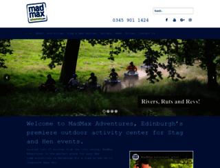 madmaxadventures.com screenshot