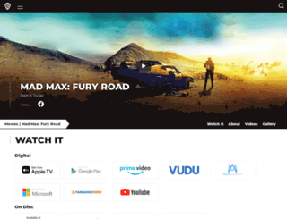 madmaxmovie.com screenshot