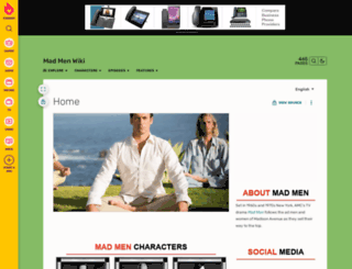 madmen.wikia.com screenshot