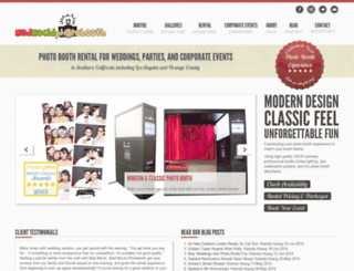 madmochiphotobooth.com screenshot