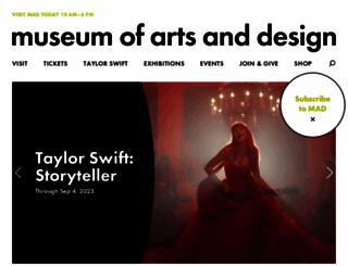 madmuseum.org screenshot