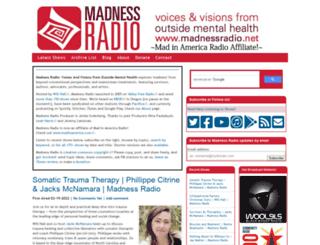 madnessradio.net screenshot