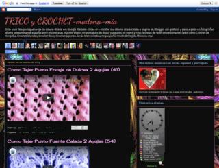 madona-mia-trico-croche.blogspot.com.es screenshot