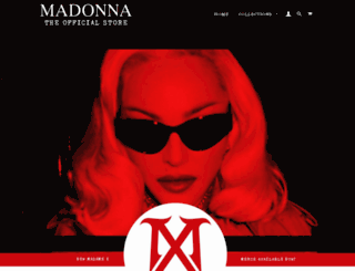 madonna.fanfire.com screenshot