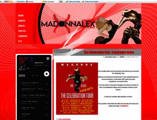 madonnalex.kazeo.com screenshot