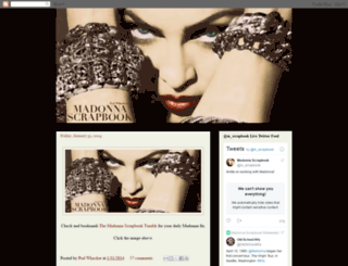 madonnascrapbook.blogspot.it screenshot
