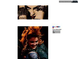 madonnascrapbook.tumblr.com screenshot