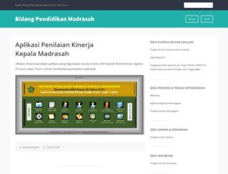 madrasahjatim.wordpress.com screenshot