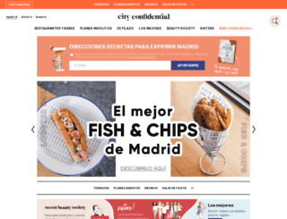 madrid-confidential.com screenshot
