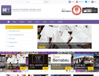 madrid-football-tickets.com screenshot