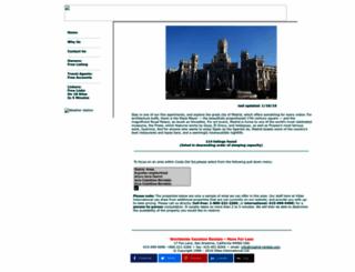 madrid-rentals.com screenshot