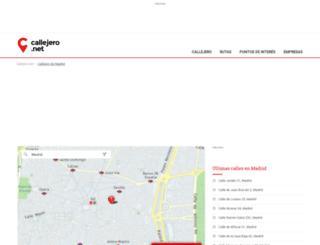 madrid.callejero.net screenshot