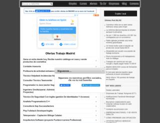 madrid.sucurriculum.com screenshot