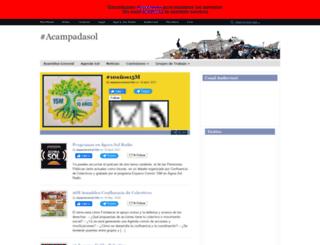 madrid.tomalaplaza.net screenshot