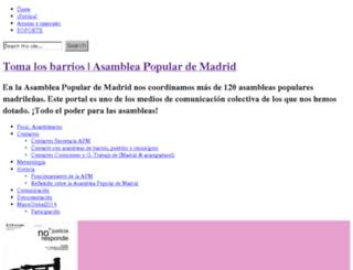 madrid.tomalosbarrios.net screenshot