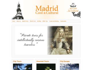 madridcoolandcultural.com screenshot