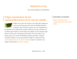 madridecocity.es screenshot
