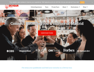 madridfoodtour.com screenshot