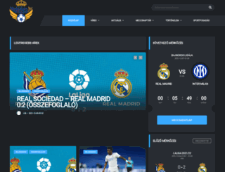 madridista.hu screenshot