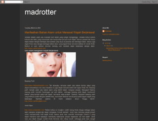 madrotter.blogspot.com screenshot