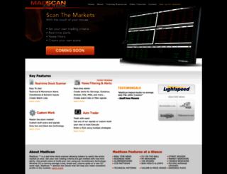 madscan.com screenshot