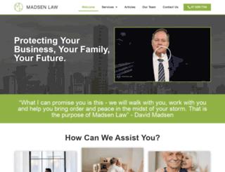 madsenlaw.com.au screenshot