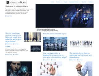 madstonblack.com screenshot