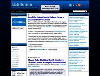 madvilletimes.blogspot.com screenshot