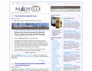 madvilletimes.com screenshot