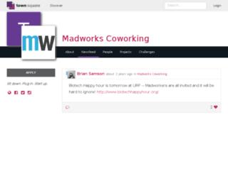 madworks_coworking.townsqua.re screenshot
