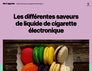 mae-cigarette.com screenshot