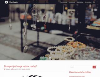 maei-beads.nl screenshot