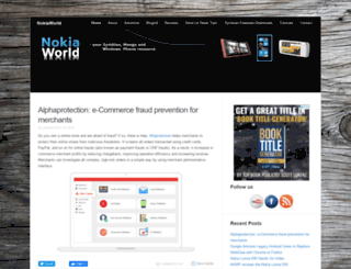 maemoworld.org screenshot