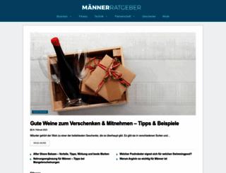 maennerratgeber.at screenshot